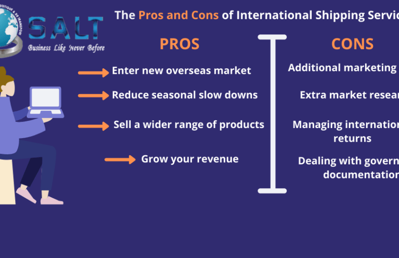 Prosand Cons of International Shipping Services