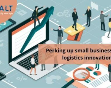 Perking up small businesses with logistics innovations
